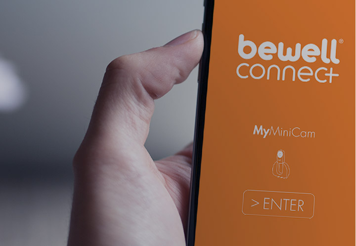 Camera connectee Myminicam de Bewell