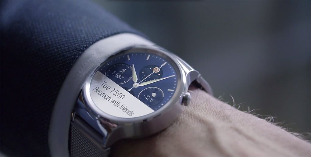 Montre connectee Huawei Watch