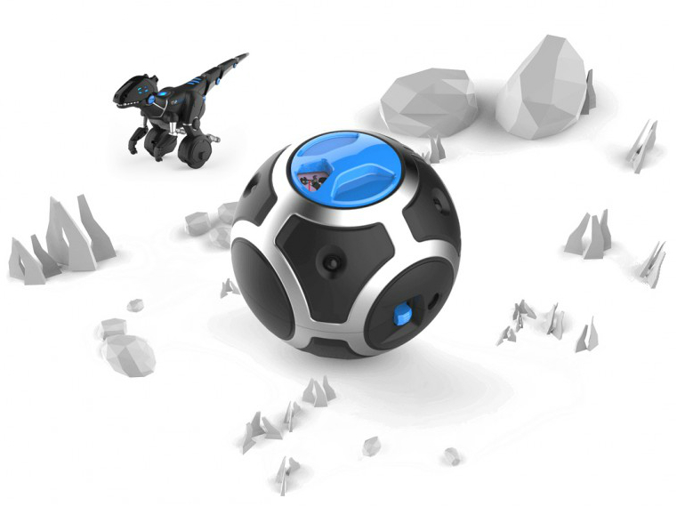 Dinosaure robotique connecte Miposaur par Wowwee