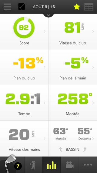zepp-golf-app-stat